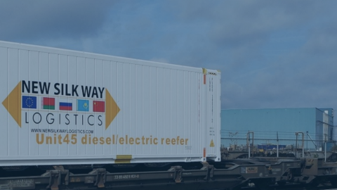 Reefer containers. Photo: New Silkway Logistics