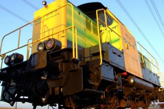 Rotterdam rail feeding locomotive. Photo: Pixabay
