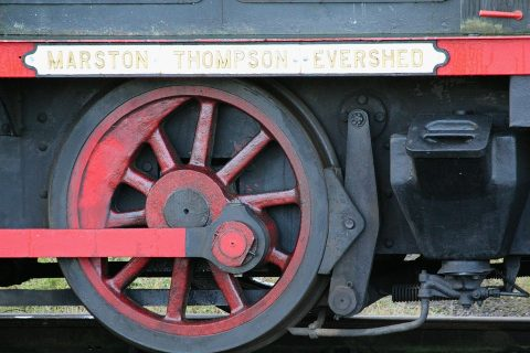 Train wheel. Photo: Pixabay