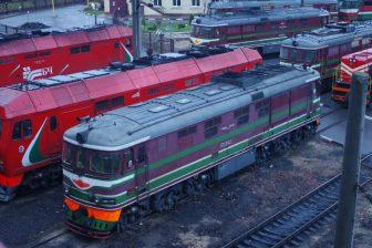 Locomotives in Belarus. Photo: Artem Svetlov