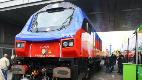 PowerHaul locomotive at Innotrans 2012. Photo: DeviantArt