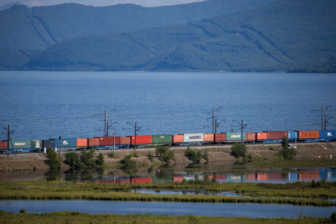 Russia-China train. Photo: RZD