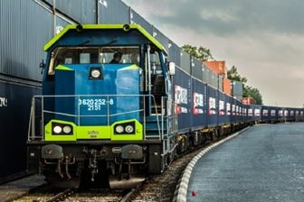 PKP Cargo container train, source: PKP Cargo