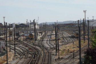 Portuguese railway track