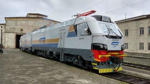 Alstom Az8a locomotive