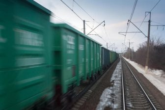 Russian freight train, source: Russian Railways