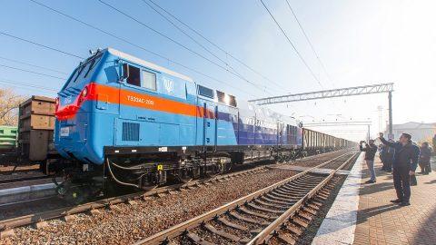 TE33A Trident locomotive, source: Kryukov Railway Car Building Works