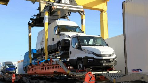 Loading of Iveco light commercial vehicles