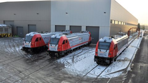 STK Dragon 2 locomotives, source: OT Logistics