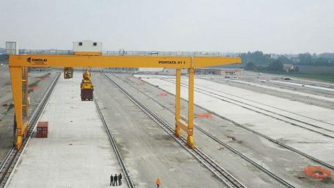 New terminal of Marzaglia