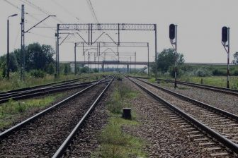 Tracks close to Terespol station, source: PKP PLK