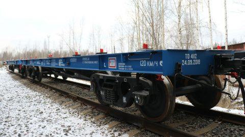 UWC's flat car (40 ft model 13-6851-05)