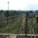 Ukraine railway track