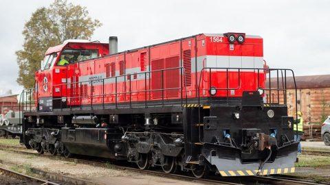 Operail C-30M locomotive, source: CZ Loko