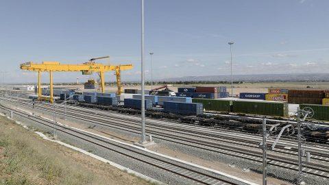 ADIF logistics centre in Zaragoza, source: ADIF