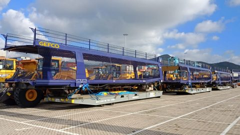 GEFCO car transporter wagons, source: GEFCO