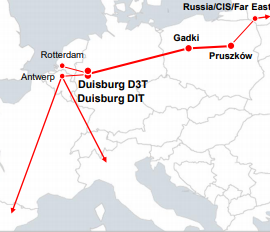 Duisport - Gadki - Prusków