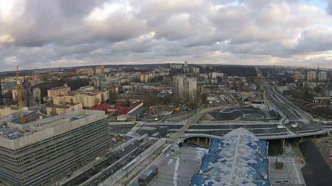 Łódź central station