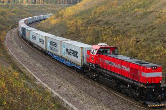 Operail container train, source: Operail