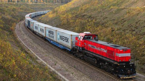 Operail container train, source: Operail