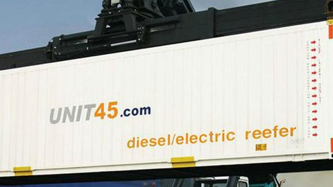 Reefer container Unit45