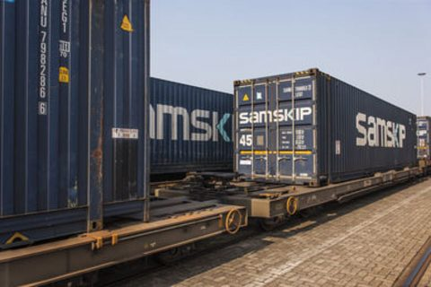 Samskip containers, source: Samskip
