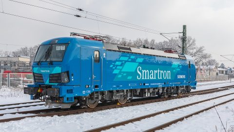 Siemens-made Smartron locomotive, source: Siemens Mobility