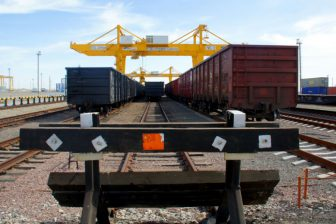 Khorgos Dry Port - China spoor