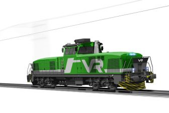 Stadler shunting locomotive for VR Group, source: Stadler