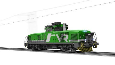 Stadler shunting locomotive for VR Group, source: Stadler