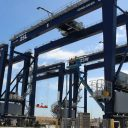 Automated cranes at BEST terminal