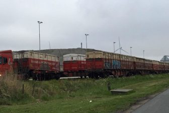Train loaded with Subcoal®