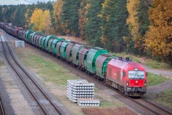 LG Cargo train, source: Lithuanian Railways