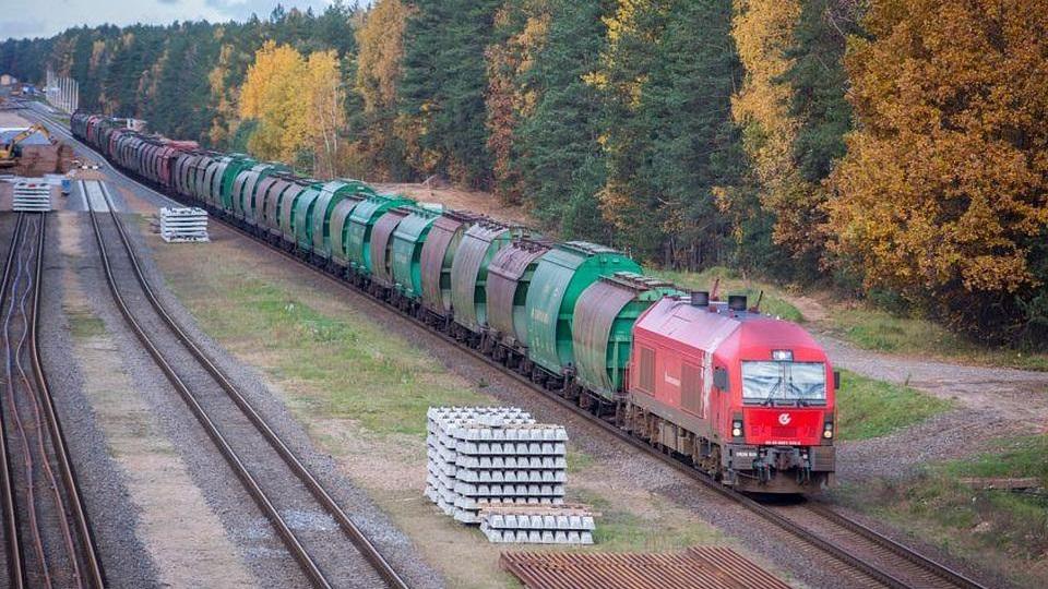 LG Cargo train, source: Lithuanian Railways