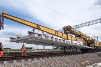 Modernisation of rail infrastructure in Poland, source: Trakcja PRKiI