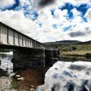 Train Scotland Bridge Scottish Highlands