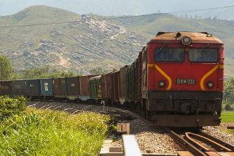 Vietnam freight train, source: Wikipedia