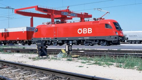 Container train of Rail Cargo Group, source: Rail Cargo Group