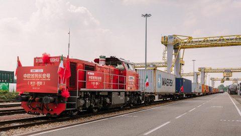 Milan-Xi'an Freight Express, source: Hupac