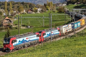Siemens Vectron locomotives of SBB Cargo International, source: SBB