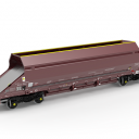 Touax Hopper wagon for Mendip Rail, source: Touax