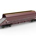Touax Hopper wagon for Mendip Rail, source: Touax