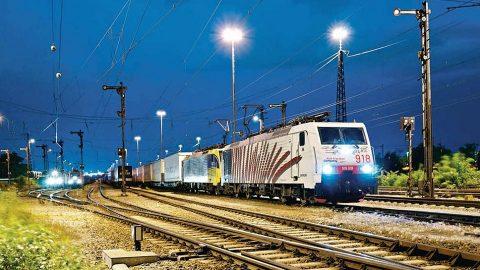 Kombiverkehr freight train, source: Kombiverkehr