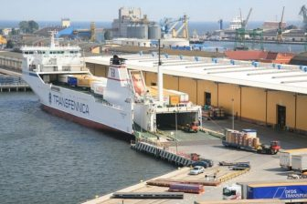 Ro-ro terminal in port of Gdynia, source: OT Logistics