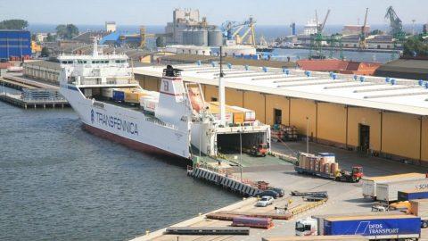 Ro-ro terminal in port of Gdynia, source: OT Logistics