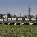 Russian train loaded with Maersk containers, source: Russian Railways (RZD)