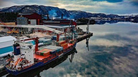 Samskip vessel, source: Samskip