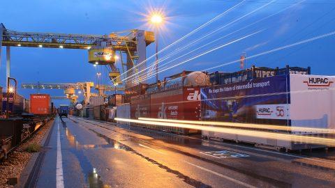 Hupac intermodal terminal, source: Hupac