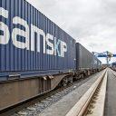 Samskip containers, source: Österreichische Verkehrszeitung