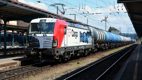 Siemens Vectron locomotive of EP Cargo, source: Siemens Mobility